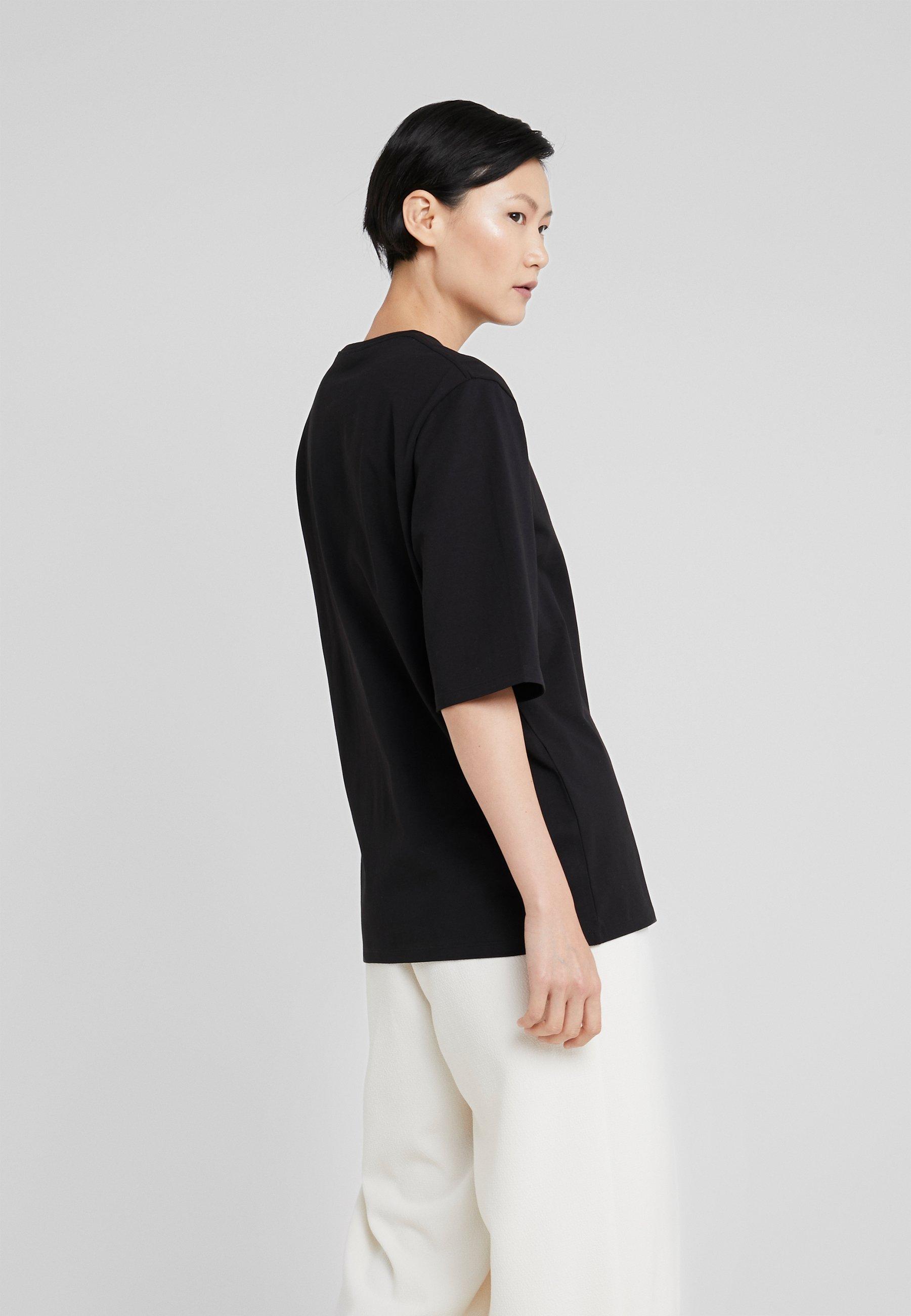 Basique Crew Long Filippa K shirt NeckT Black UzSqVMp