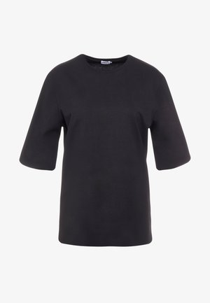 LONG CREW NECK - T-shirt basic - black