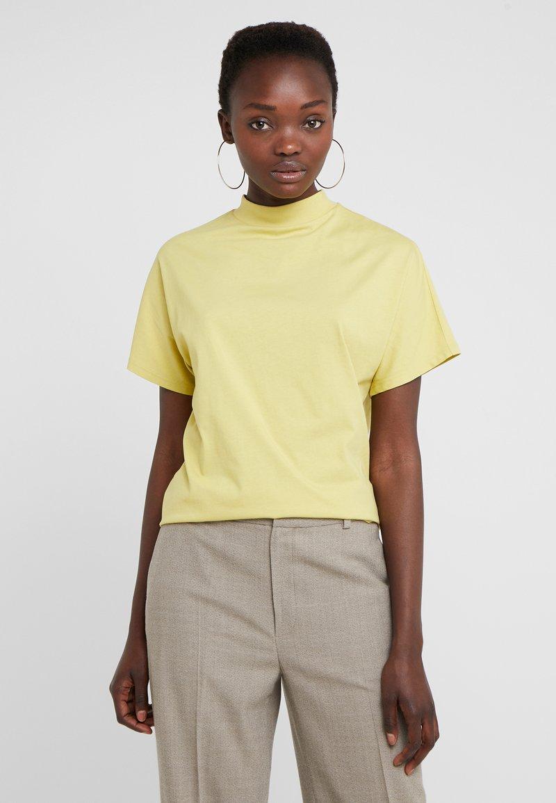 Filippa K - ALIX TEE - Camiseta básica - dijon yellow