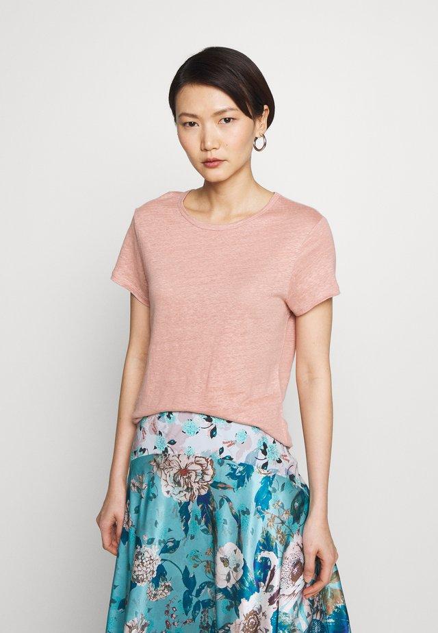 HAZEL TEE - T-shirts basic - light pink