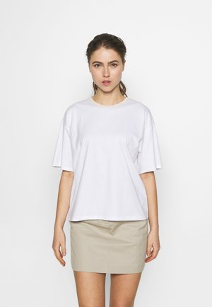 JANELLE TEE - Basic T-shirt - white