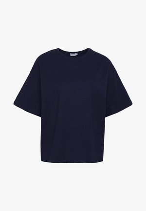 JANELLE TEE - T-shirt basic - navy