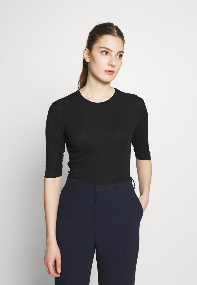 JACQUELINE  - T-shirt - bas - black