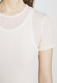 Filippa K - SHEER TEE - T-shirt basic - bone - 5