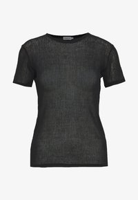 Filippa K - SHEER TEE - T-shirt basique - black - 4