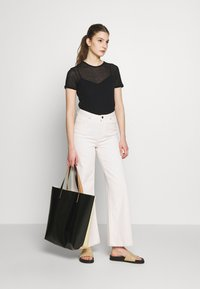 Filippa K - SHEER TEE - T-shirt basique - black - 1