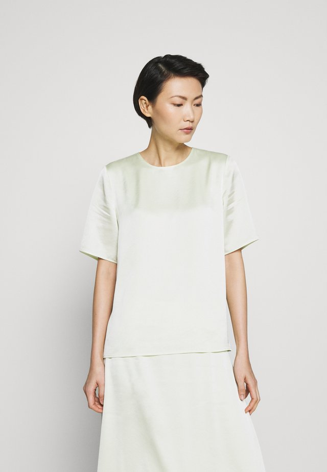 ANGELA TEE - Blus - pale lime