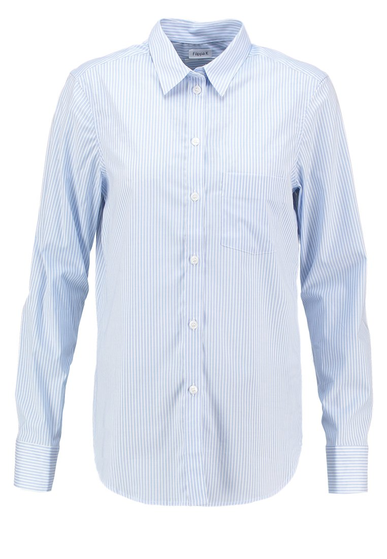 Filippa K CLASSIC - Skjorte - light blue stripe