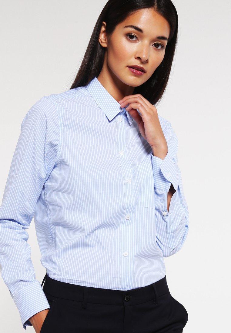 Filippa K - CLASSIC - Button-down blouse - light blue stripe