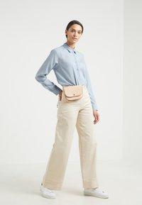 Filippa K - HIGH LOW - Button-down blouse - dusty blue - 1