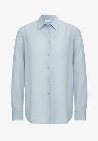 Filippa K - HIGH LOW - Button-down blouse - dusty blue - 4