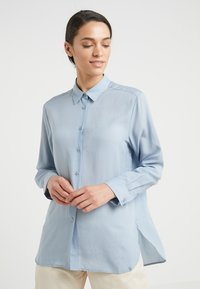 Filippa K - HIGH LOW - Button-down blouse - dusty blue - 0