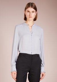 Filippa K - SHEER BUTTON BLOUSE - Overhemdblouse - dove blue - 0