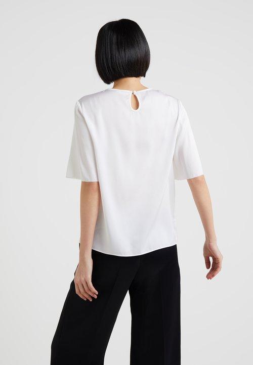 Filippa K TEE - Bluzka - white Koszulki i Topy KEUD-ZL3 30% OBNIŻONE