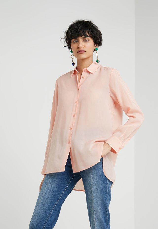 HIGH LOW - Skjorta - dusty pink