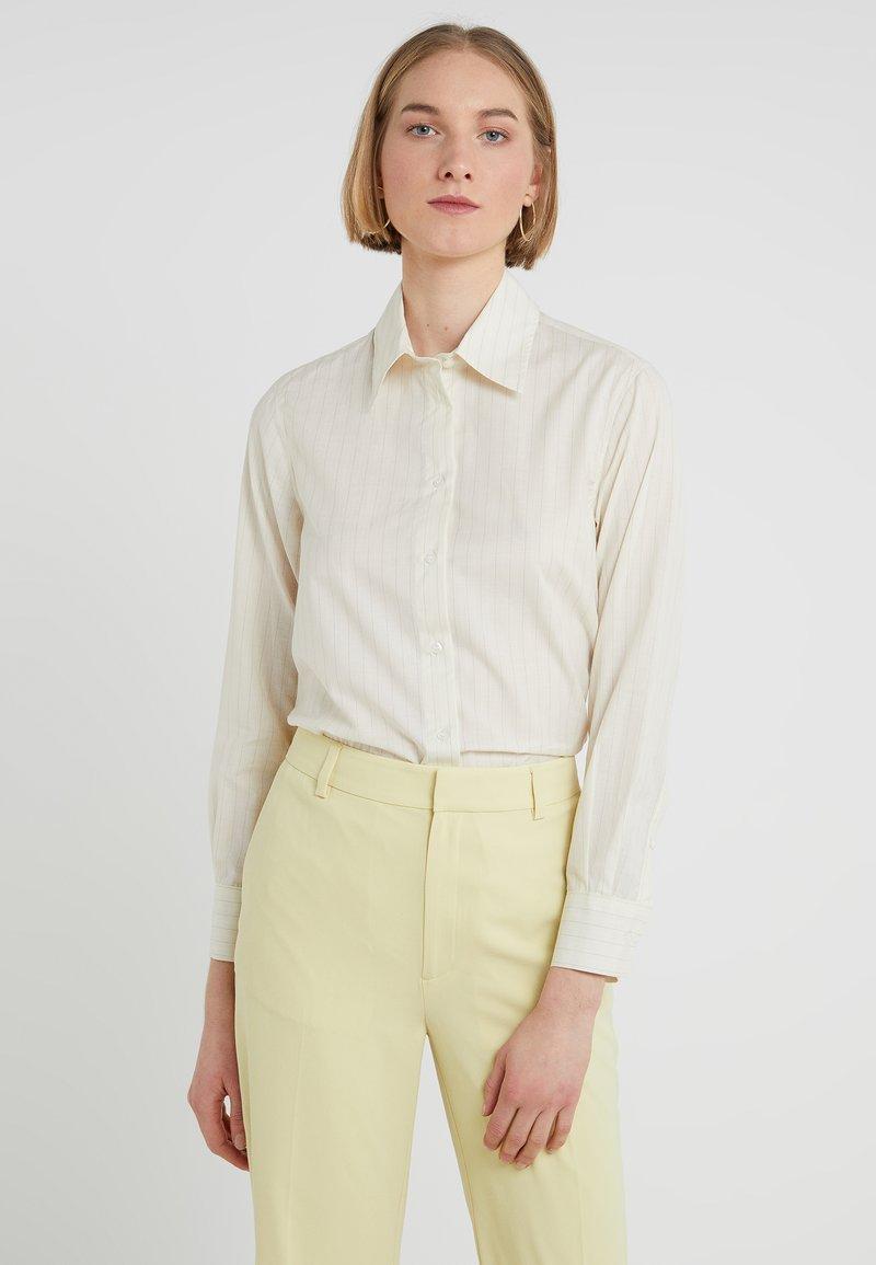 Filippa K - INDRA - Button-down blouse - offwhite