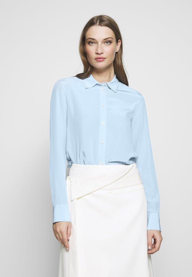 BLOUSE - Button-down blouse - atlantic blue