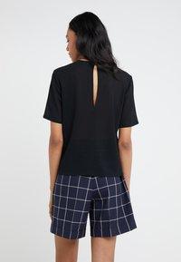 Filippa K - TEE - T-shirts - black - 2