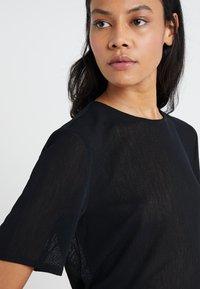 Filippa K - TEE - T-shirts - black - 5