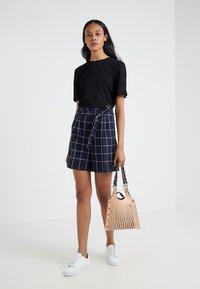Filippa K - TEE - T-shirts - black - 1