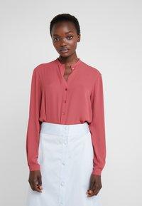 Filippa K - ADELE BLOUSE - Button-down blouse - raspberry - 0