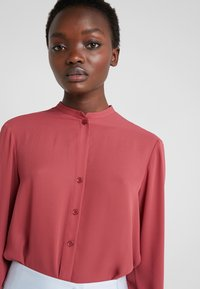Filippa K - ADELE BLOUSE - Button-down blouse - raspberry - 4