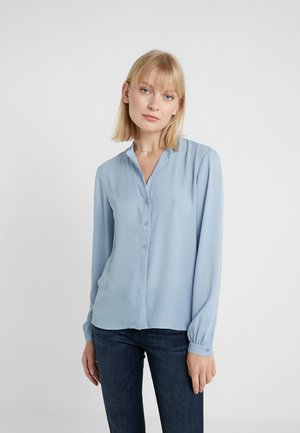 ADELE BLOUSE - Button-down blouse - frosty blu