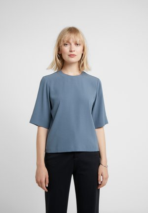 CASSY TOP - Blouse - blue/grey