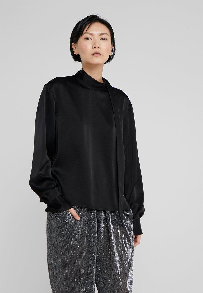 Filippa K - NOA BLOUSE - Bluse - black
