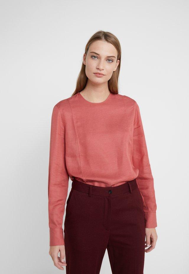 FEN BLOUSE - Blus - pink cedar