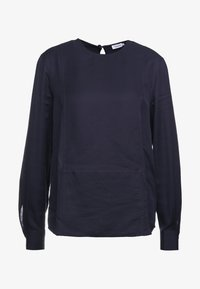 Filippa K - FEN BLOUSE - Blusa - deep blue - 4