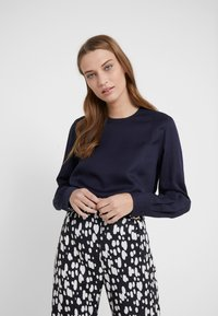 Filippa K - FEN BLOUSE - Blusa - deep blue - 0