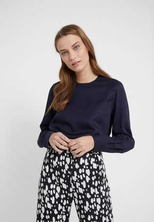 FEN BLOUSE - Bluzka - deep blue