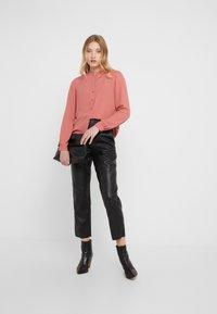 Filippa K - ADELE BLOUSE - Button-down blouse - pink cedar - 1