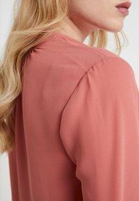 Filippa K - ADELE BLOUSE - Button-down blouse - pink cedar - 5
