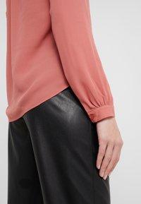 Filippa K - ADELE BLOUSE - Button-down blouse - pink cedar - 3