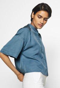 Filippa K - TAMMY - Camisa - blue heave - 4