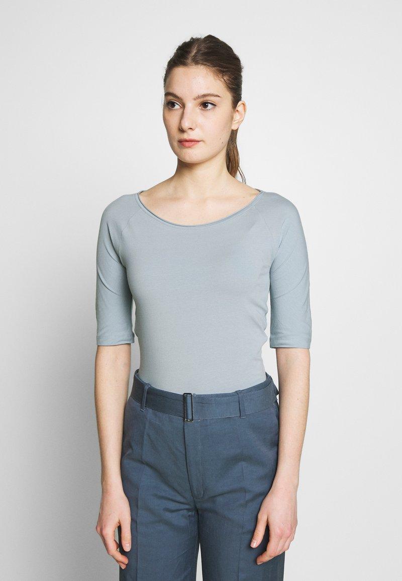 Filippa K - BALLERINA SLEEVE  - Camiseta básica - dove blue
