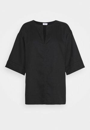 FLORA BLOUSE - Blouse - black