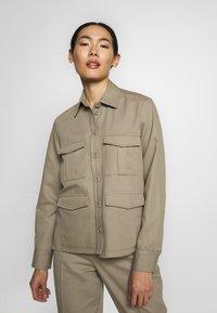 Filippa K - HANNA JACKET - Summer jacket - khaki - 0