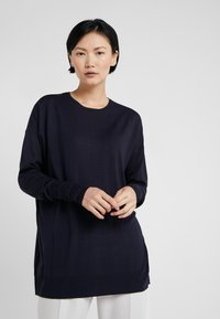 Filippa K - FINE SWEATER - Trui - navy - 0