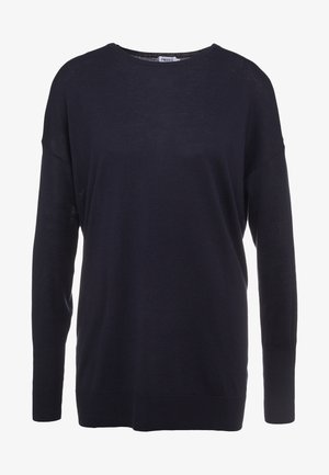 FINE SWEATER - Sweter - navy