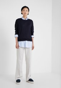 Filippa K - FINE SWEATER - Trui - navy - 1