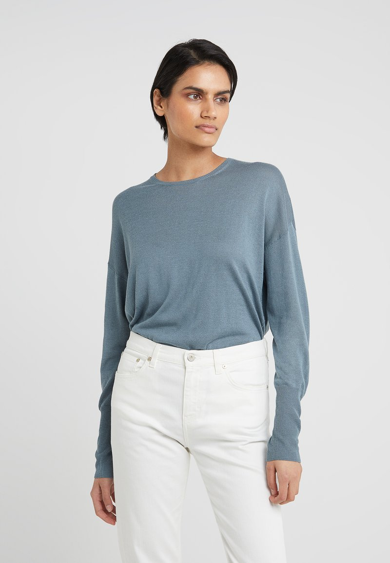 Filippa K - FINE SWEATER - Jumper - river