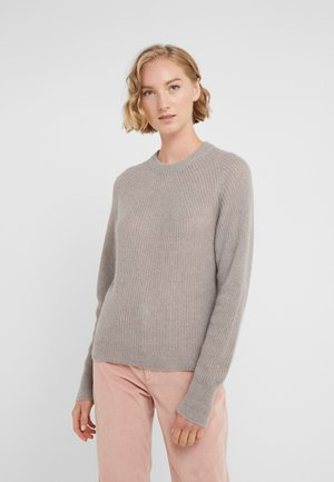 LUNA - Jumper - dark taupe