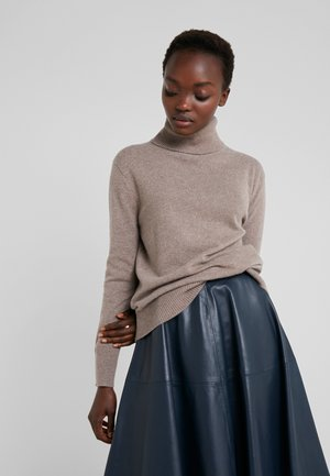 ROLLER NECK - Sweter - taupe