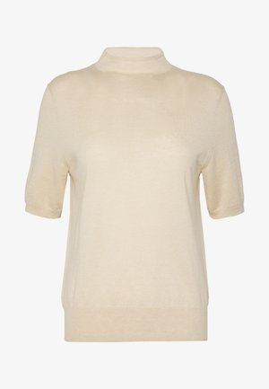 EVELYN - Jednoduché triko - ecru