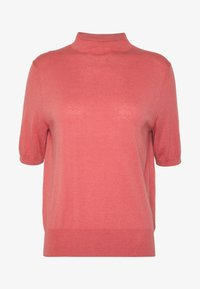 Filippa K - EVELYN - Basic T-shirt - pink cedar - 3