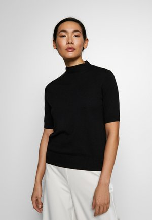 EVELYN - Basic T-shirt - black