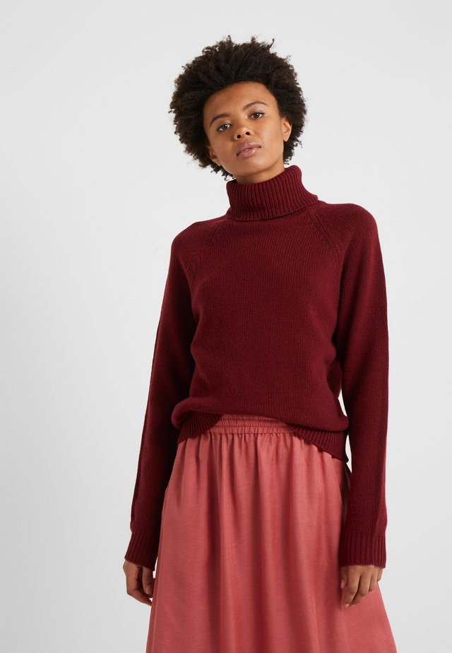 KATHLEEN  - Stickad tröja - pure red